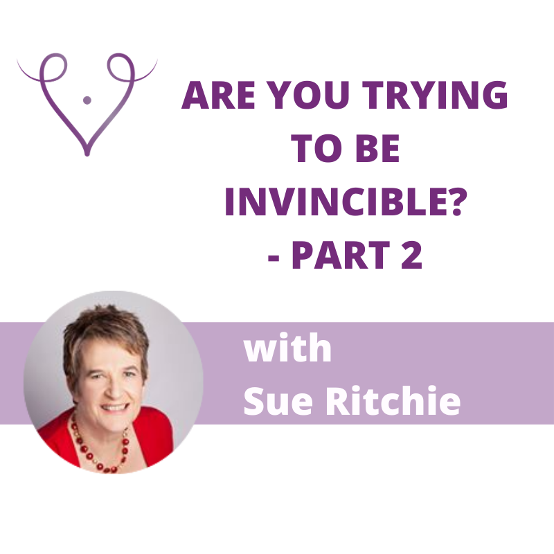 how being invincible affects fertility with Sue Ritchie, part 2