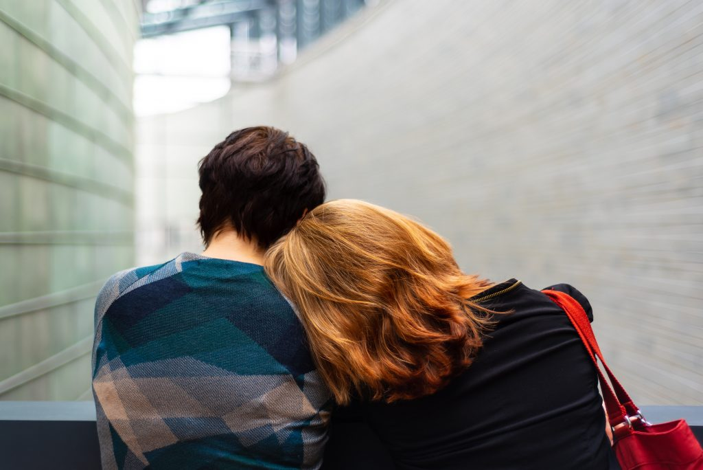 couple after miscarriage